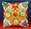 A Joyful Christmas Mini Cushion Cross Stitch Kit