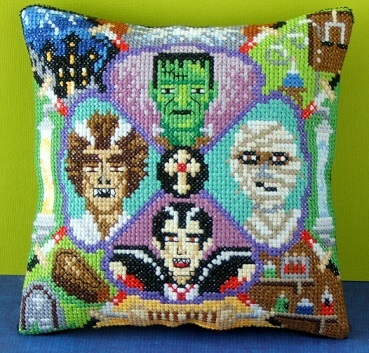 Monster_Party_Mini_Cushion_Cross_Stitch_Kit