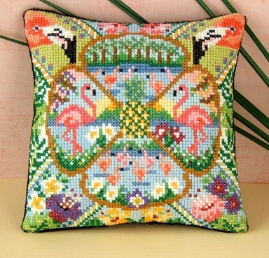 The_Pink_Flamingo_Cross_Stitch_Kit