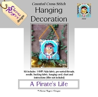 A Pirate's Life Hanging Decoration