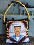 Royal Navy Hanging Decoration Cross Stitch Kit