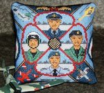 Royal Air Force Mini Cushion Cross Stitch Kit
