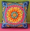 Amazing Gazania Mini Cushion Cross Stitch Kit