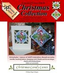 Christmas Candy Canes Cross Stitch Kit