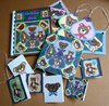 Teddy Bear Treat Birthday Book and Gift Tag Set