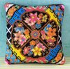 Floral Zest Mini Cushion Cross Stitch Kit