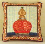 Ruby Mini Cushion Cross Stitch Kit