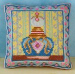 Sapphire Mini Cushion Cross Stitch Kit