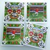Set of 4 acrylic coasters - Football