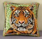 Tiger Mini Cushion Cross Stitch CHART PACK
