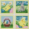 Easter Cards Cross Stitch Chart PDF