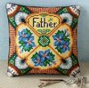 Father's Day Cross Stitch Mini Cushion Chart PDF