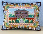 The Manor House Mini Cushion Cross Stitch Kit