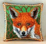 Fox Mini Cushion Cross Stitch Kit