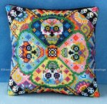 Day of the Dead Mini Cushion Cross Stitch Kit