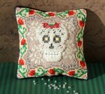 Crystal Skull Mini Cushion Cross Stitch Kit