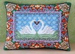 Swan Lake Mini Cushion Cross Stitch Kit