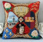 Richard III Mini Cushion Cross Stitch Kit