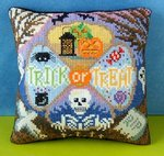 Trick or Treat Mini Cushion Cross Stitch Kit