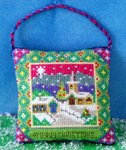 Christmas Eve Hanging Decoration Cross Stitch Kit