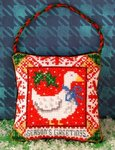 Christmas Goose Hanging Decoration Cross Stitch Kit