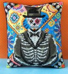 Male of the Dead Mini Cushion Cross Stitch Kit
