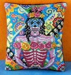 Female of the Dead Mini Cushion Cross Stitch Kit