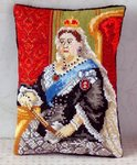 Queen Victoria Mini Cushion Cross Stitch Kit