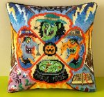 Hocus Pocus Mini Cushion Cross Stitch Kit