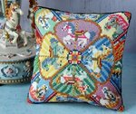 Carousel Mini Cushion Cross Stitch Kit