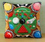 Snooker Mini Cushion Cross Stitch Kit