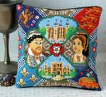 Anne Boleyn Mini Cushion Cross Stitch Kit
