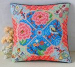Summer Paradise Mini Cushion Cross Stitch Kit