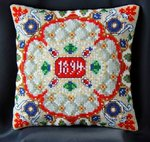 Renaissance inspired by Faberge Mini Cushion Cross Stitch Kit