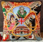 Proms Mini Cushion Cross Stitch Kit