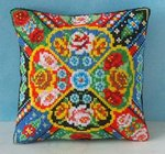 Barge Ware Mini Cushion Cross Stitch Kit