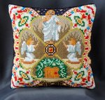 Resurrection inspired by Fabergé Mini Cushion Cross Stitch Kit