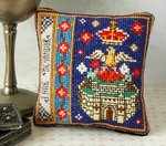 Jane Seymour Badge Pincushion Cross Stitch Kit