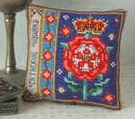 Catherine Howard Badge Pincushion Cross Stitch Kit