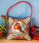 Christmas Robin (small) Hanging Decoration Cross Stitch Kit