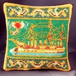 Pamiat Azova inspired by Fabergé Pincushion Cross Stitch Kit