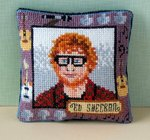 Ed Sheeran Pincushion Cross Stitch Kit