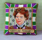 Emmeline Pankhurst Pincushion Cross Stitch Kit