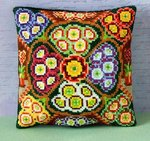 Auricula Mini Cushion Cross Stitch Kit