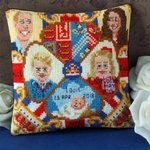 The Cambridge Family Mini Cushion Cross Stitch Kit