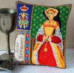 Jane Seymour Mini Cushion Cross Stitch Kit