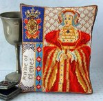Anne of Cleves Mini Cushion Cross Stitch Kit