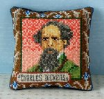 Charles Dickens Pincushion Cross Stitch Kit