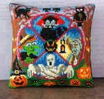 Bump in the Night Mini Cushion Cross Stitch Kit