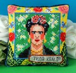 Frida Kahlo Pincushion Cross Stitch Kit